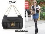 In Emma Roberts' Closet - Chloé Elsie East West Bag
