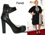 In Chloe Sevigny's Closet - Fendi Rubber Top Cap Pumps