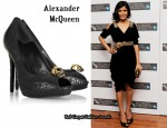 In Freida Pinto's Closet - Alexander McQueen Angel Wings Pumps
