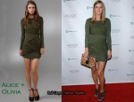In Nicky Hilton's Closet - Alice + Olivia Dress & Jimmy Choo Heels