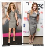 Who Wore Roland Mouret Better? Jennifer Lopez or Hilary Duff