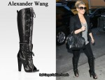 In Jessica Simpson's Closet - Alexander Wang Freja Boots