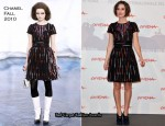 "Keira Knightley In Chanel - ""Last Night"" Rome Film Festival Photocall"