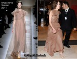 "Keira Knightley In Valentino - ""Last Night"" Rome Film Festival Opening Ceremony Premiere"