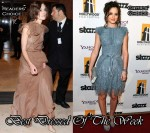 Best Dressed Of The Week - Keira Knightley In Valentino & Leighton Meester In Elie Saab