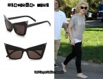 In Kelly Osbourne's Closet - Alexander Wang Pointed Cat Eye Sunglasses