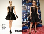 "Kylie Minogue In David Koma & Marios Schwab – ""Aphrodite"" Mexico Album Promotion"