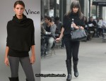 In Lea Michele's Closet - Vince Cable Yoke Sweater