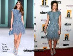 Leighton Meester In Elie Saab - 14th Annual Hollywood Awards Gala