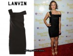 In Maggie Gyllenhaal's Closet - Lanvin Scuba Dress