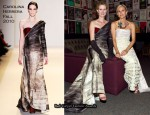 The 30th Anniversary Of The Promise – Cynthia Nixon In Carolina Herrera