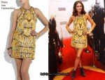In Olivia Palermo's Closet - Diane von Furstenberg Ammand Macramé Dress