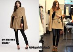 In Olivia Palermo's Closet - By Malene Birger Knit Cape