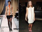 Olivia Palermo In Giambattista Valli - 2010 Whitney Gala and Studio Party