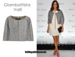 In Olivia Palermo's Closet - Giambattista Valli Cropped Jacket