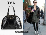 In Whitney Port's Closet - YSL Muse Bag