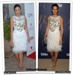 Who Wore Naeem Khan Better? Lindsay Price or Angie Harmon