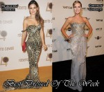Best Dressed Of The Week - Rachel Bilson & Heidi Klum In Roberto Cavalli