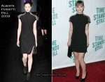 """Time Stands Still"" Broadway Opening Night After Party - Christina Ricci In Alberta Ferretti"