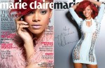Rihanna For Marie Claire UK December 2010