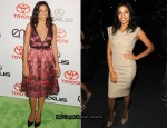 2010 Environmental Media Awards & Spike TV's 2010 Scream Awards  – Rosario Dawson In Prada & Victoria Beckham Collection