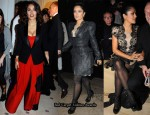 Salma Hayek Front Row @ Paris Fashion Week