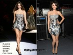 Selena Gomez In Zuhair Murad Couture – Justin Timberlake & Friends Concert