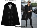 In Jessica Simpson's Closet - Alice by Temperley Charlie Crepe Cape