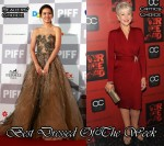 Best Dressed Of The Week - Son Ye Jin in Valentino & Helen Mirren In Paule Ka