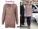 In Taylor Swift's Closet - Topshop Alpaca Slouchy Sweater