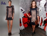 In Olivia Palermo's Closet - Tibi Byzantine Embroidery Dress