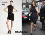 In Kim Kardashian's Closet - Alexander Wang Draped Corset Dress