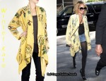 In Nicole Richie's Closet - Winter Kate Butter Jasmine Silk Burnt Out Velvet Jacket