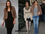 In Kourtney Kardashian's Closet - Plastic Island Stoneage Crop Jacket