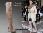 In Kim Kardashian's Closet - Report Signature Over The Knee Boots