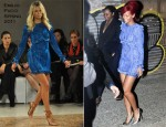 Runway To Don Giovanni's - Rihanna In Emilio Pucci