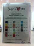 Lanvin For H&M: THE RULES