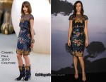 Anna Mouglalis In Chanel Couture – Chanel Boutique Store Opening
