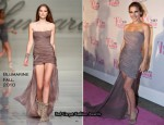Elsa Pataky In Blumarine - Top Glamour Awards 2010