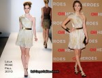 Emmy Rossum In Lela Rose – CNN Heroes: An All Star Tribute