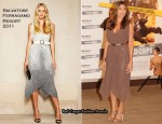 "Eva Mendes In Salvatore Ferragamo - ""The Other Guys"" Brussels Photocall"