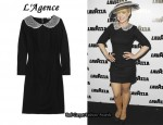 In Kelly Osbourne's Closet - L'Agence Wool-Blend Dress