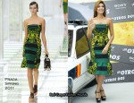 "Eva Mendes In Prada & Lela Rose - ""The Other Guys"" Madrid Photocall"