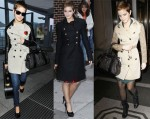 Emma Watson Loves Her Burberry Coats