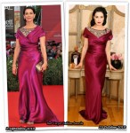 Who Wore Moschino Better? Hiam Abbass or Dita von Teese