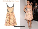 In Kristin Cavallari's Closet - Z Spoke by Zac Posen Floral Dress