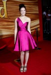 "Mandy Moore In Vintage Carolyne Roehm - ""Tangled"" World Premiere"