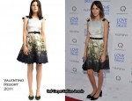 "Alexa Chung In Valentino - ""Love & Other Drugs"" New York Premiere"