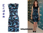 In Anne Hathaway's Closet - Erdem Sleeveless Dress