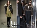 Runway To Heathrow Airport - Anne Hathaway In Burberry Prorsum